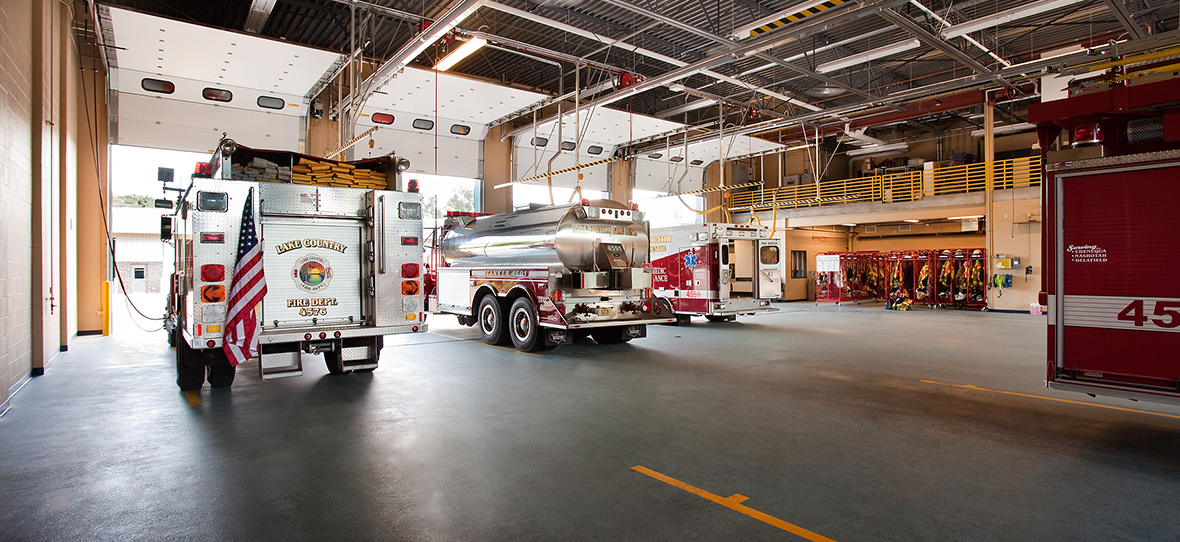 C.D. Smith Construction provided services to Delafield's public safety building that offer services for the police force and for the fire department/EMS.