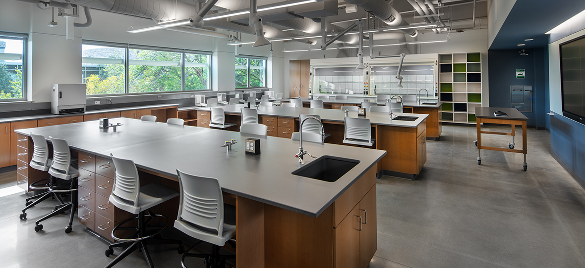 Marian University in Fond du Lac, Wisconsin hired C.D. Smith for construction services for renovations to their STEM programs with an addition of the Dr. Richard and Leslie Ridenour Science Center Addition.
