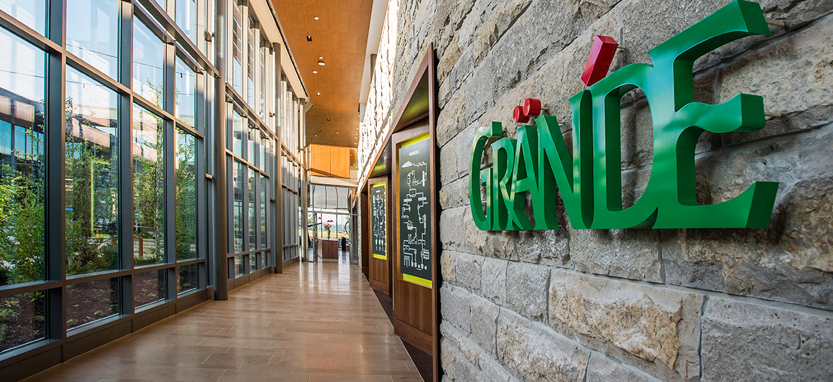 Grande Cheese Company Corporate Headquarters Commercial Project C.D. Smith Construction