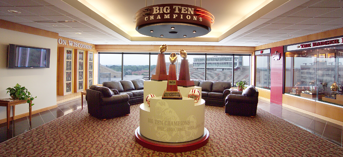 UW-Madison Camp Randall Stadium seating capacity higher education campus construction project renovation C.D. Smith