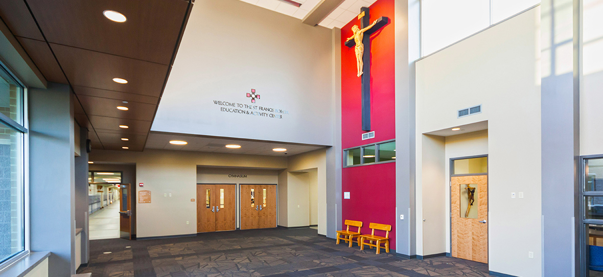 C.D. Smith was hired by St. Francis Borgia Catholic Parish as the Construction Manager for a new Education & Activity Center in Cedarburg, Wisconsin.