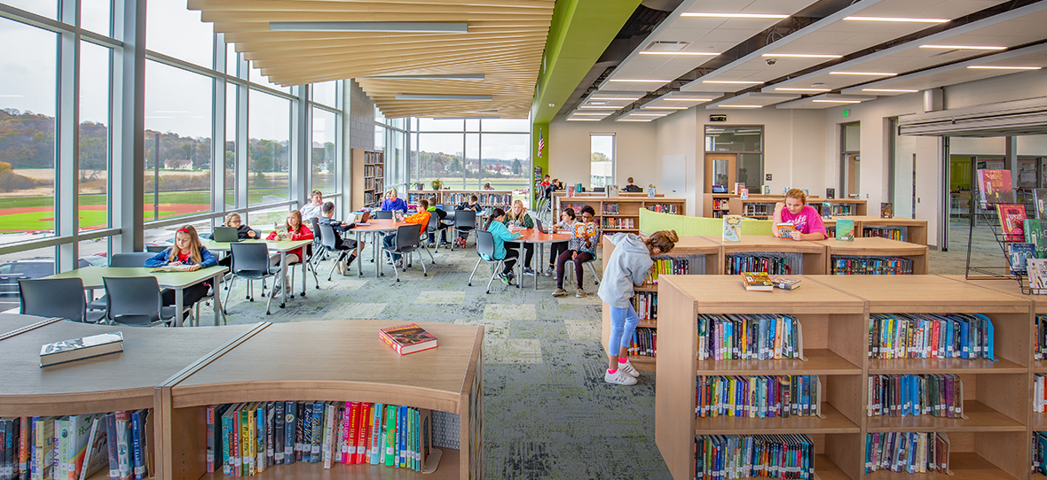 Kewaskum Middle-High School - - School Construction - Education Construction - Wisconsin construction companies – Madison construction companies – Milwaukee construction companies – Commercial Construction Companies - C.D. Smith Construction