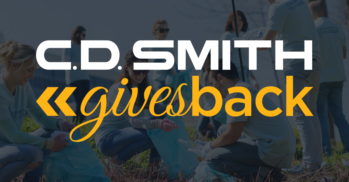C.D. Smith Construction Building Communities & Giving Back in Support of Local Organizations