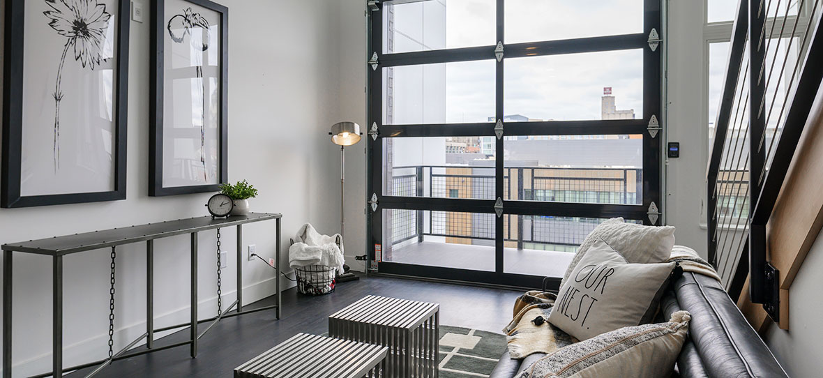 550 Ultra Lofts Luxury Apartments Downtown Milwaukee Fiserv Forum Commercial Housing Project C.D. Smith Construction Manager