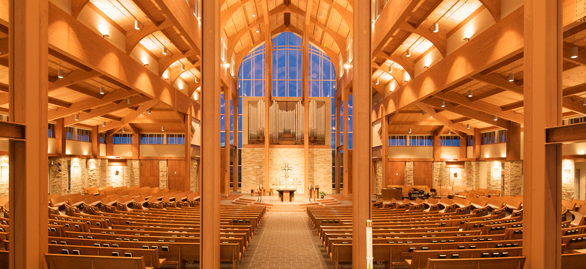Holy Family Catholic Church in Fond du Lac, Wisconsin is the centerpiece of the large Holy Family Parish and was built by C.D. Smith Construction in 2007.