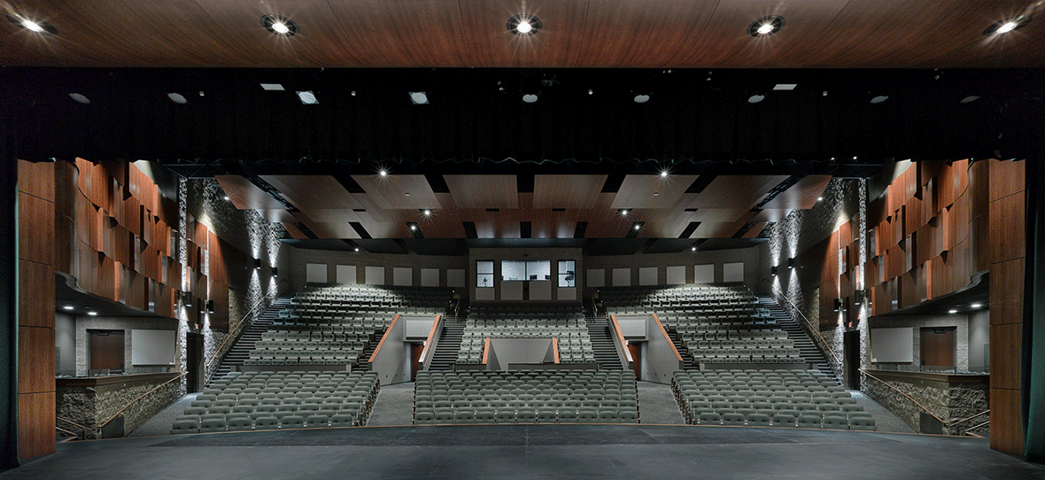 C.D. Smith was hired by the Village of Ashwaubenon and the Ashwaubenon School District to provide full preconstruction and construction management services for a new Performing Arts Center and renovations to the Pool.