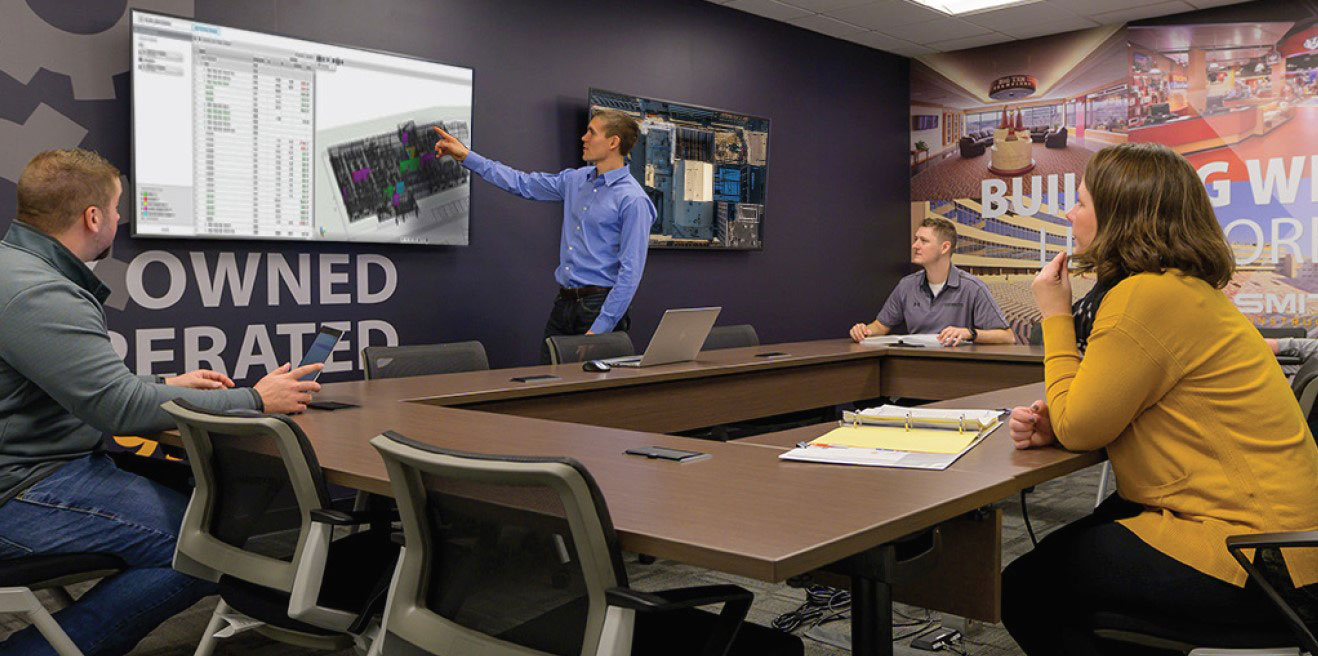 C.D. Smith Construction Manager BIM technology with Virtual Design & Construction (VDC)