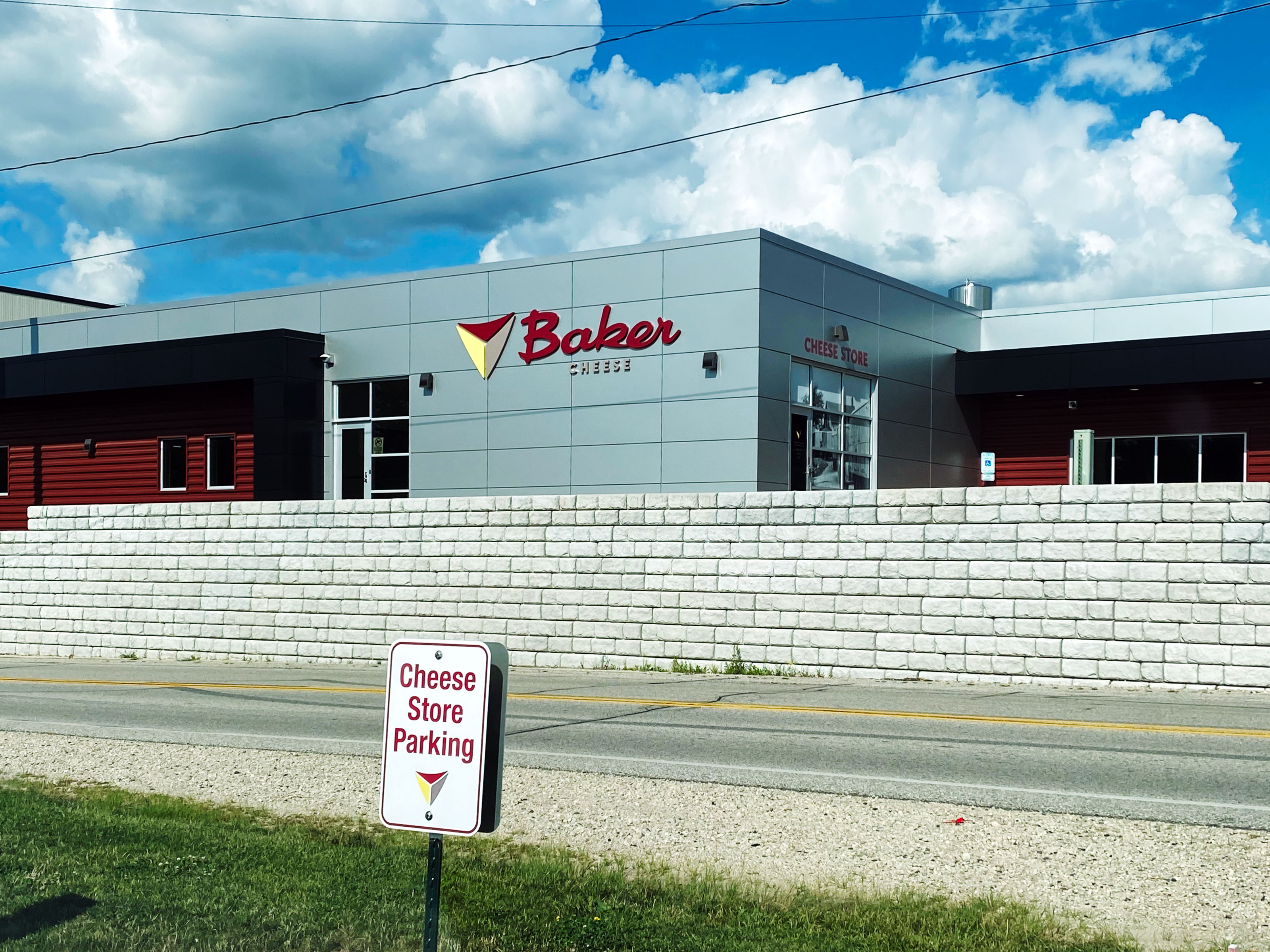 Baker Cheese Manufacturing Plant Addition Warehouse Office Building Construction Manager Commercial Project Contractor