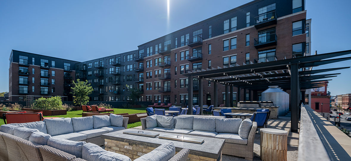 Belle Square Development Mixed-Use Construction Management Sustainable Project Building Design La Crosse, WI