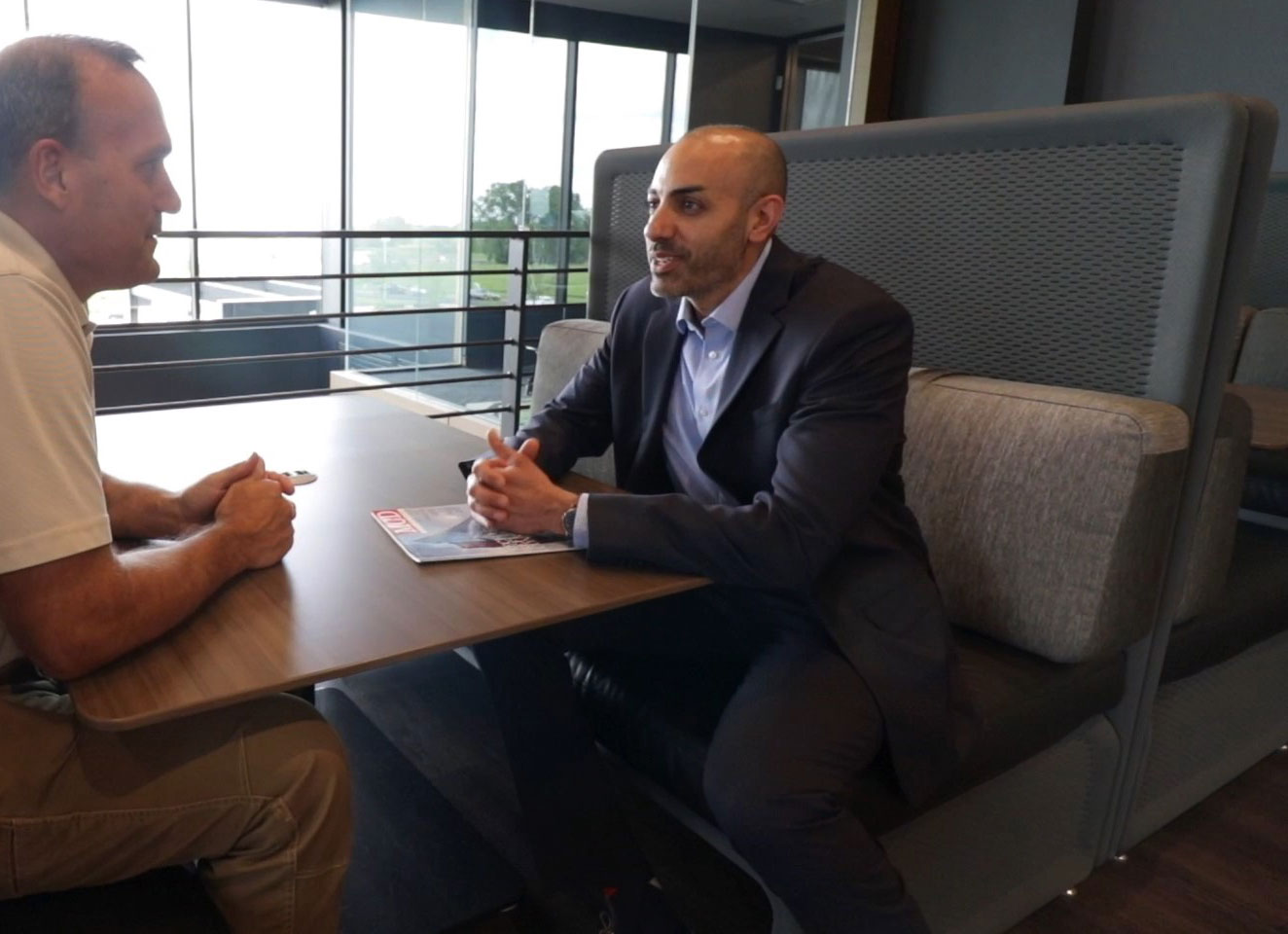 Building relationships with C.D. Smith Construction Business Development Manager Nanak Malhotra