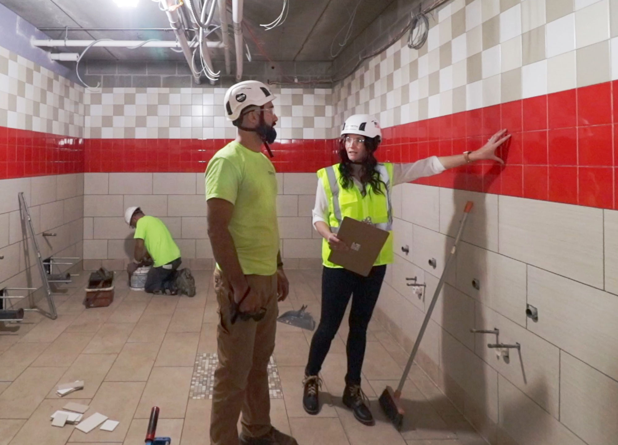 C.D. Smith Construction Director of Educational Markets Tricia Muellenbach on School Building Site Bathroom Construction