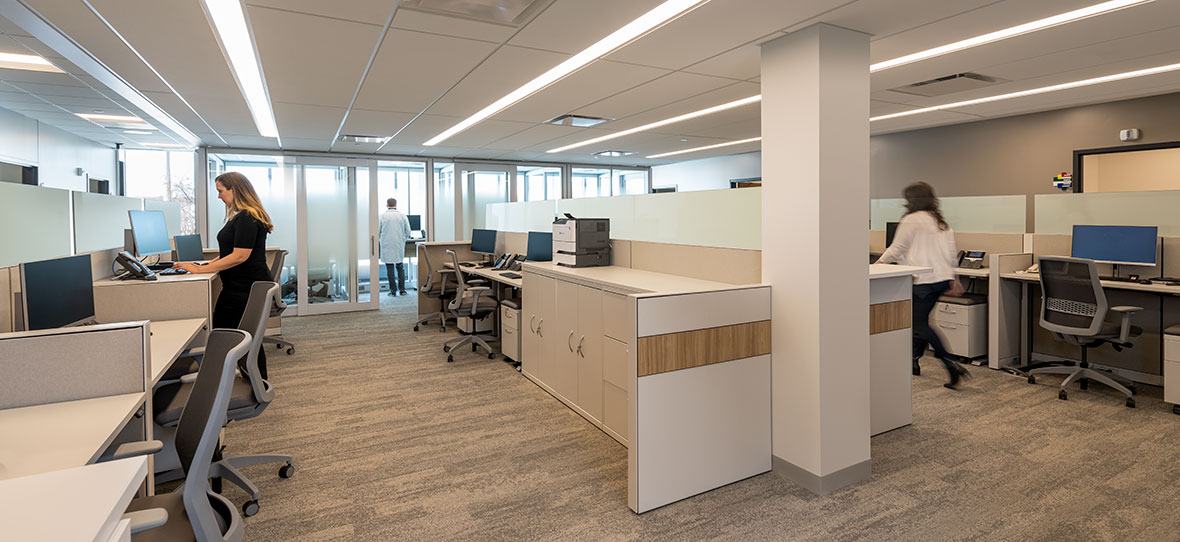 C.D. Smith Construction Manager modern healthcare architecture building project SSM Health Beaver Dam Clinic office design