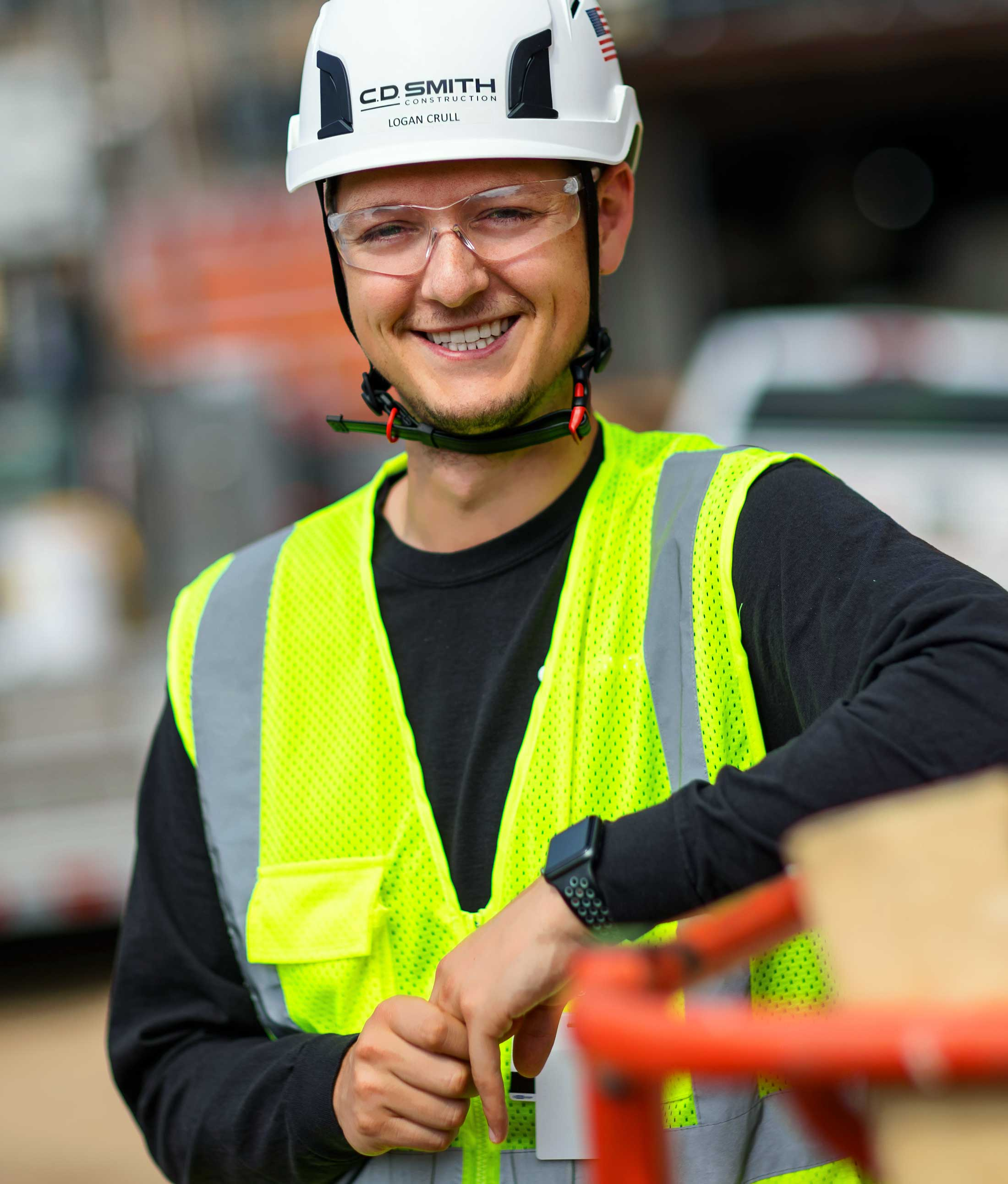 C.D. Smith Construction Project Manager Logan Krull