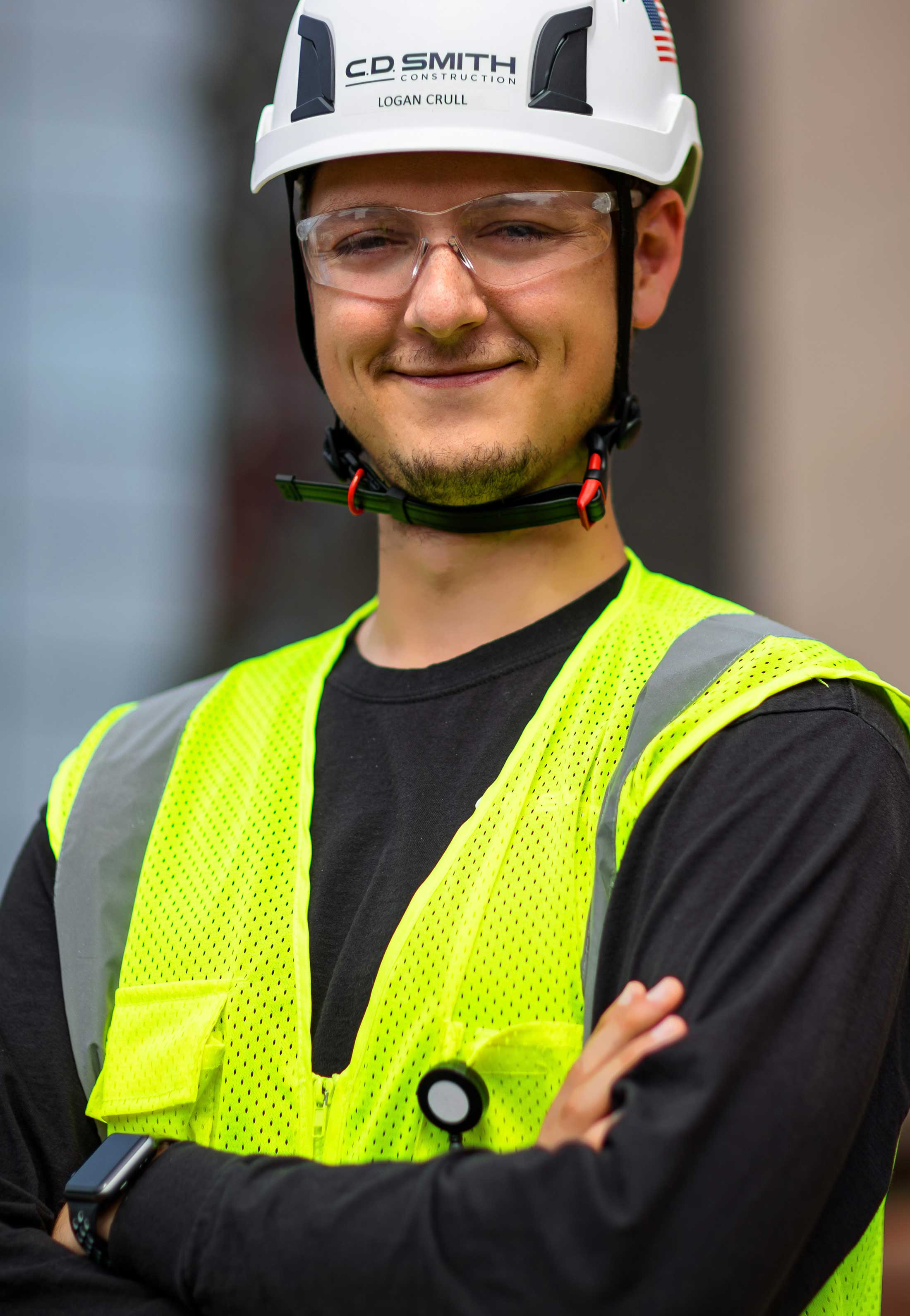 C.D. Smith Construction Project Manager Logan Crull
