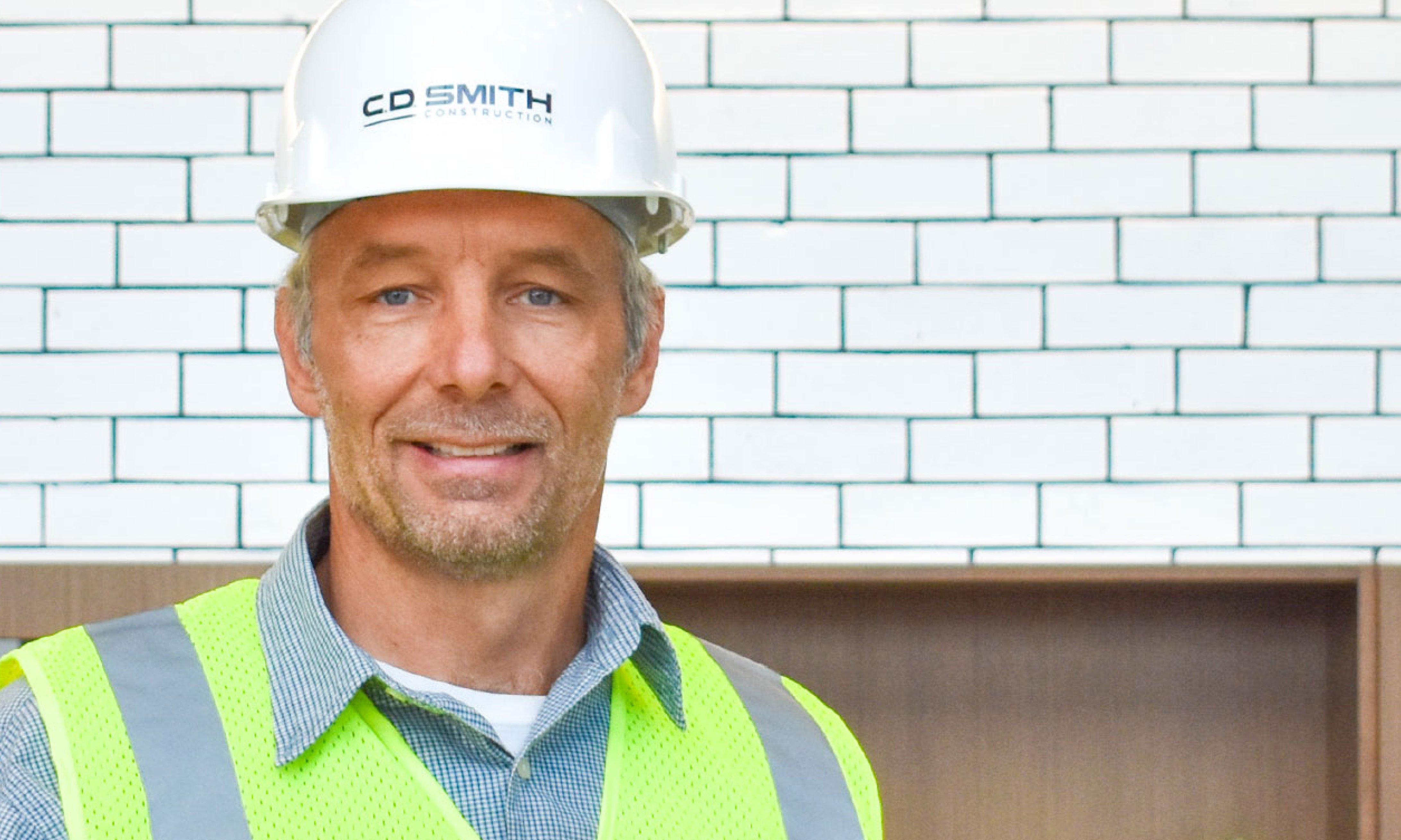 C.D. Smith Construction Superintendent Wayne Holum