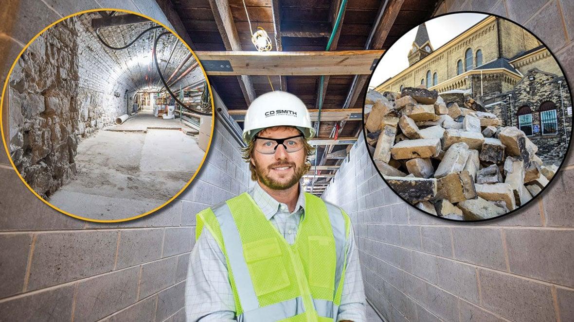 C.D. Smith Construction Project Superintendent Clint Bindrich Commercial Construction Crew & Client Success