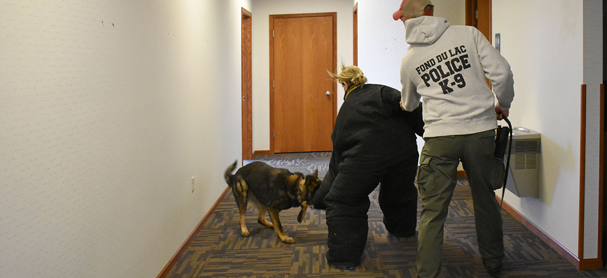 C.D. Smith Construction company old corporate office for Fond du Lac Police training law enforcement agencies & K-9 units