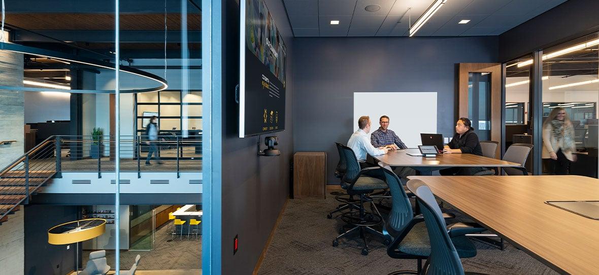 C.D. Smith Construction Corporate Office Design Architecture in Fond du Lac