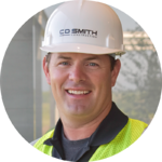 Chris Sabish Senior Superintendent C.D. Smith Construction company construction services building design projectI