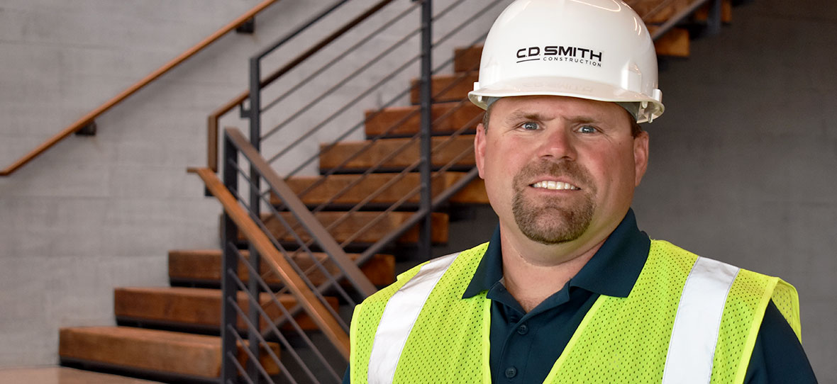 Dana Wagner C.D. Smith Construction firm construction manager preconstruction design build commercial project mason foreman