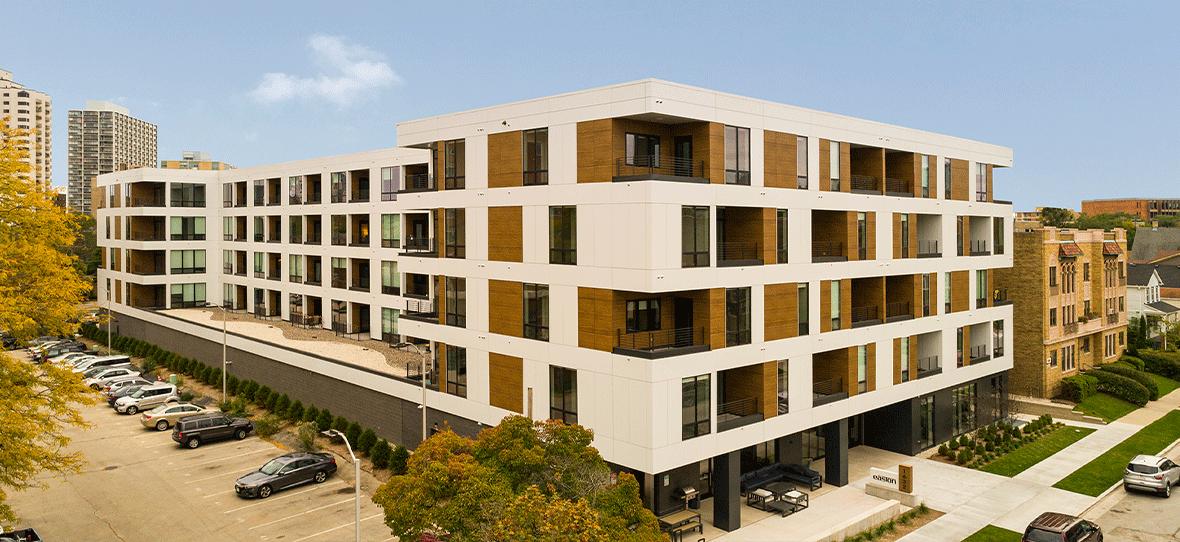 Easton Apartments - Housing Construction - Building Wisconsin - Madison Construction Companies -Milwaukee Construction Companies