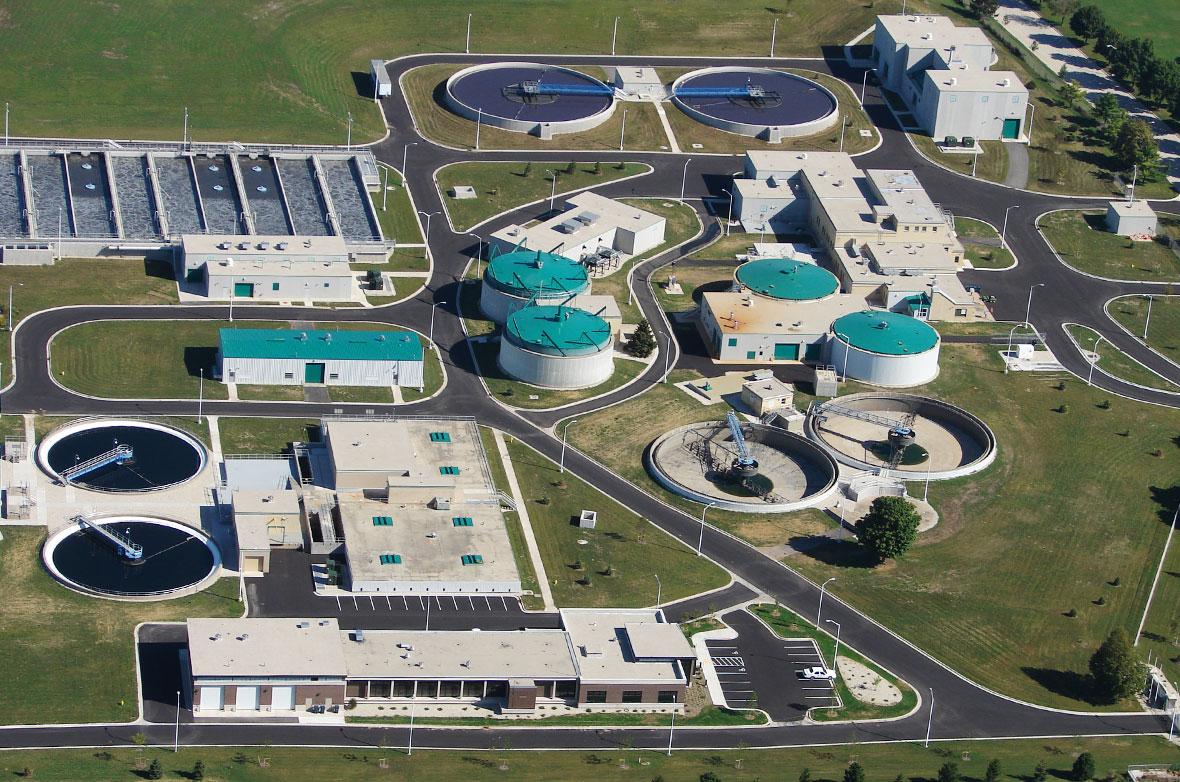 Fond du Lac Regional Wastewater Treatment Facility Civic Government Commercial Contractor C.D. Smith Construction Project