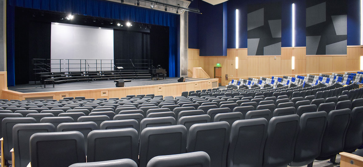 Germantown School District Performing Arts Center Theater Stage Design C.D. Smith Construction Manager