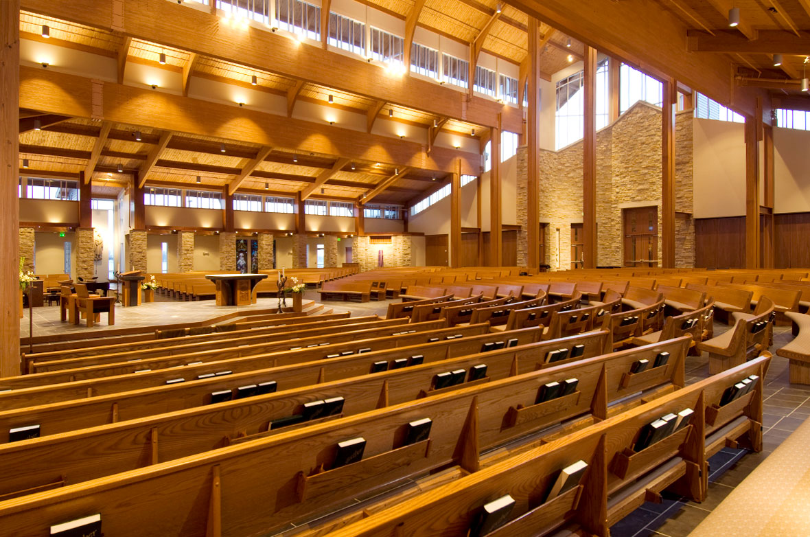 Holy Family Catholic Church Building Spiritual Construction Services Commercial Contractor C.D. Smith Construction Project