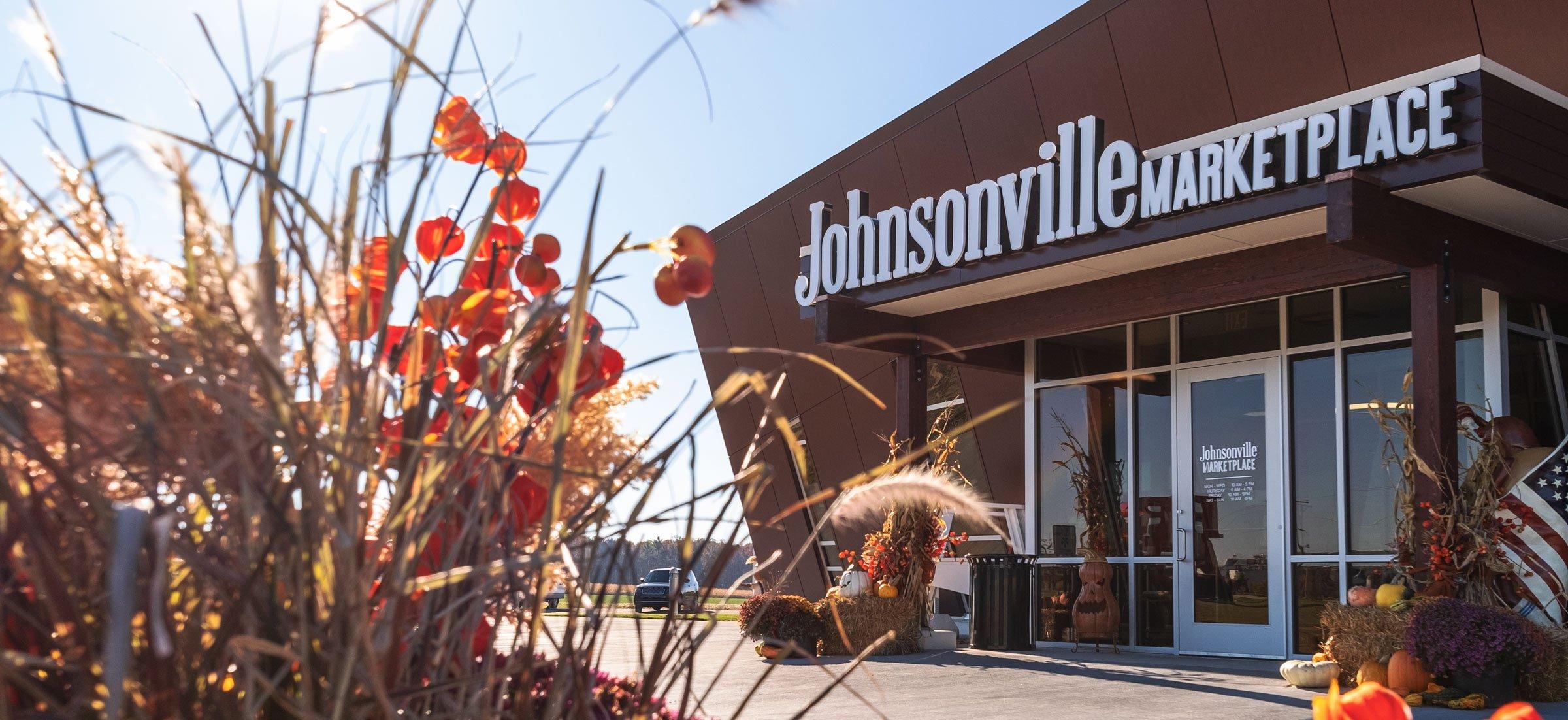 Johnsonville Marketplace Retail Shop Modern Exterior Facade & Interior Design Green Build by C.D. Smith Construction Manager