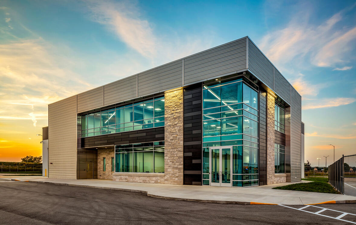 Mercury Marine Technical Center Manufacturing Testing Building Construction Manager Commercial Project General Contractor