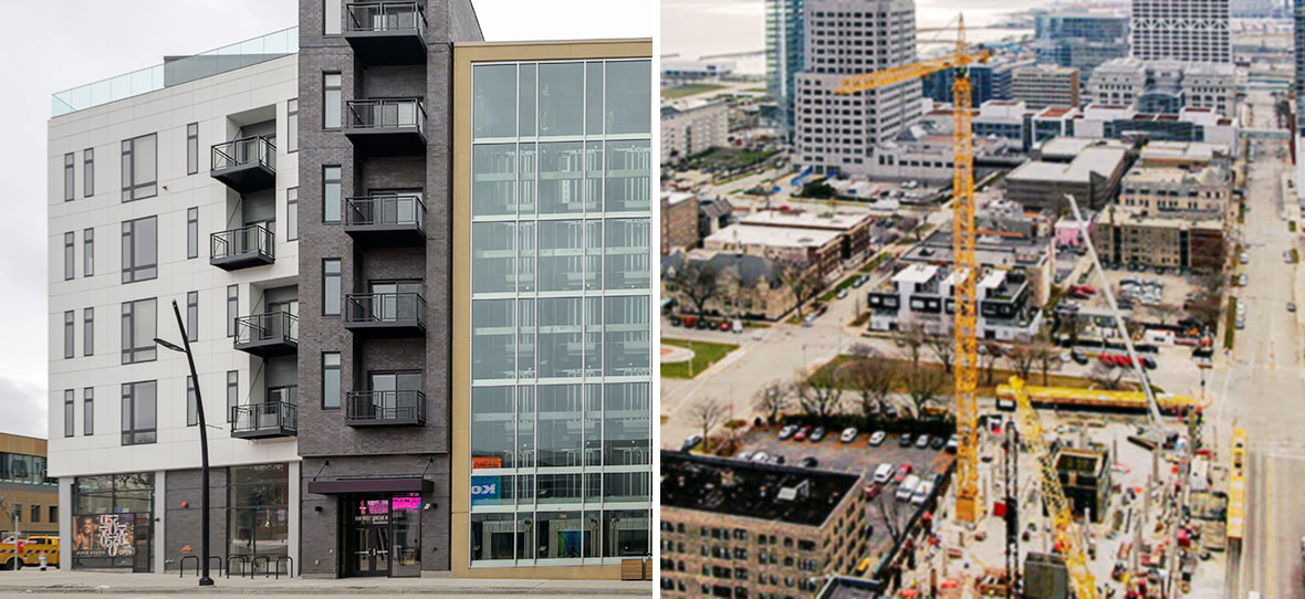 Milwaukee Business Journal Real Estate Awards Honor Commercial Real Estate & Construction Projects - 550 Ultra Lofts & Ascent