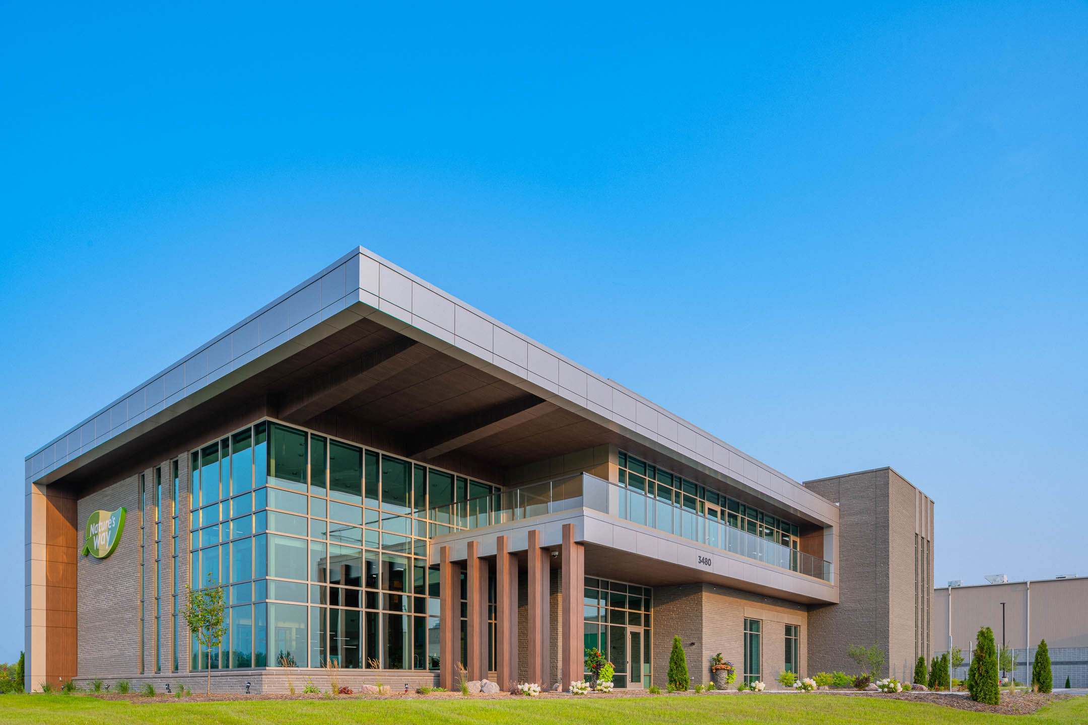 Nature's Way Corporate Office Building Project Green Bay, WI - Planning Design-Build Contractor C.D. Smith Construction Firm