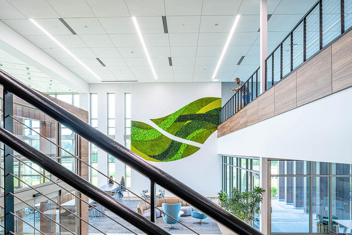 Nature's Way new corporate office building constructed by C.D. Smith