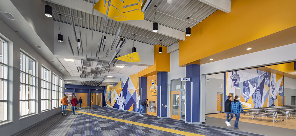 C.D. Smith Construction was hired by the Northern Ozaukee School District to address infrastructure, site and educational space needs at the existing combined campus in Fredonia, Wisconsin.