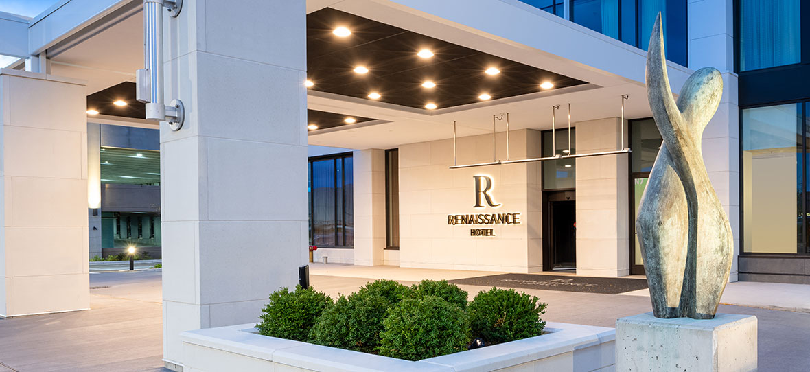 Renaissance Milwaukee West Marriott-branded hotel Hospitality Building Project C.D. Smith Construction Manager
