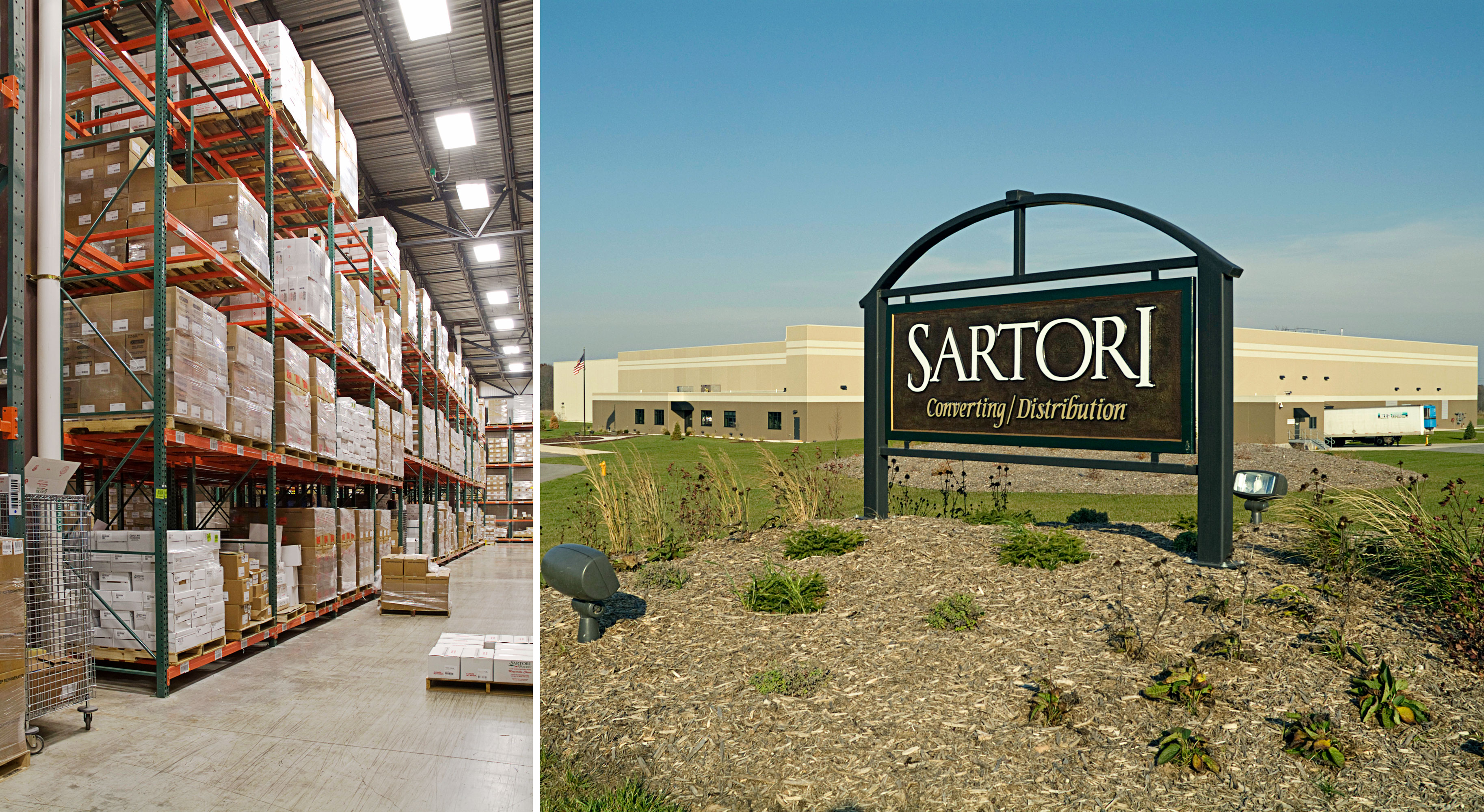 Sartori Cheese Conversion Plant Industrial Manufacturing Building Construction Manager Commercial Project General Contractor