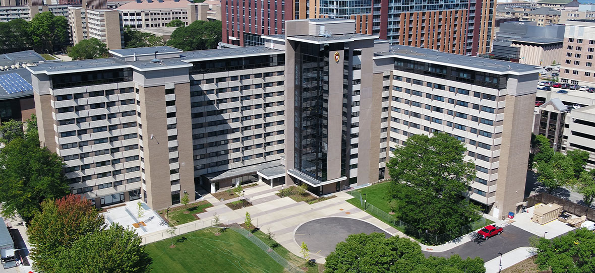 C.D. Smith was hired as Construction Manager by the University of Wisconsin-Madison to complete renovations and additions to Witte Hall, a residence hall known by many students as a