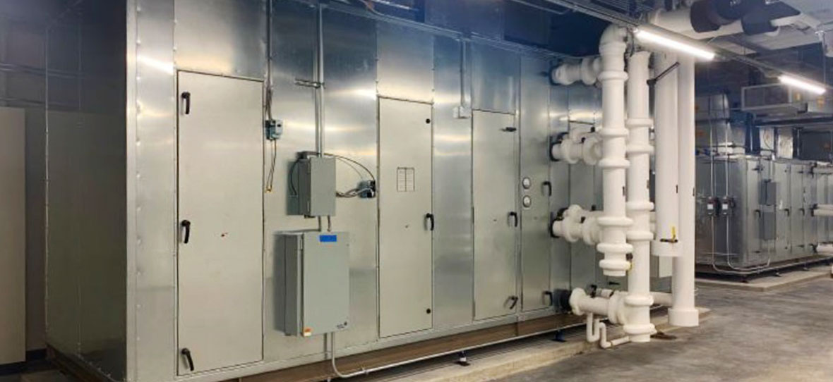 Post-pandemic MEP air quality and HVAC new commercial building construction and retrofit