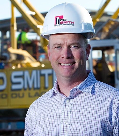 CEO Justin Smith C.D. Smith Construction manager team testimonies  preconstruction design build general contractor commercial projects
