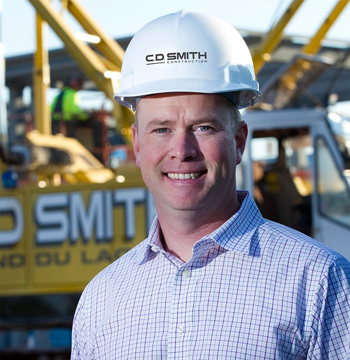 Justin Smith – President and CEO – C.D. Smith Construction Commercial – Construction Companies – Wisconsin construction companies – Madison construction companies – Milwaukee construction companies