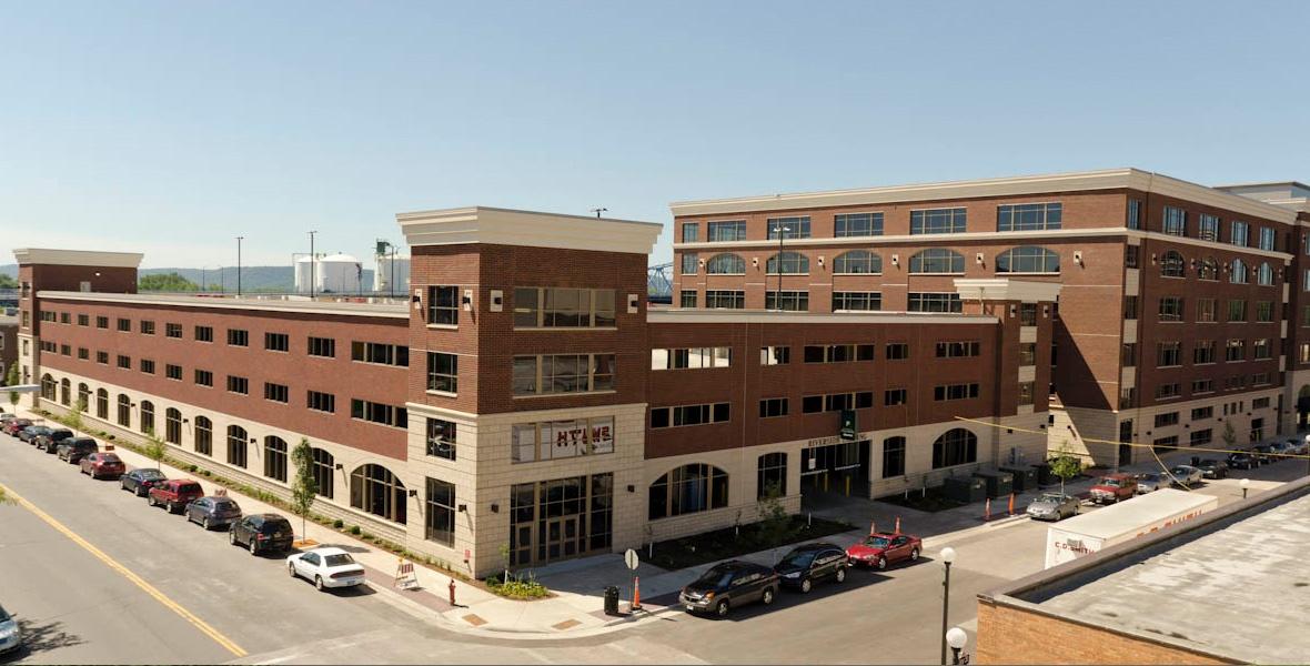 parking-structure-construction-Riverside-Center-La-Crosse