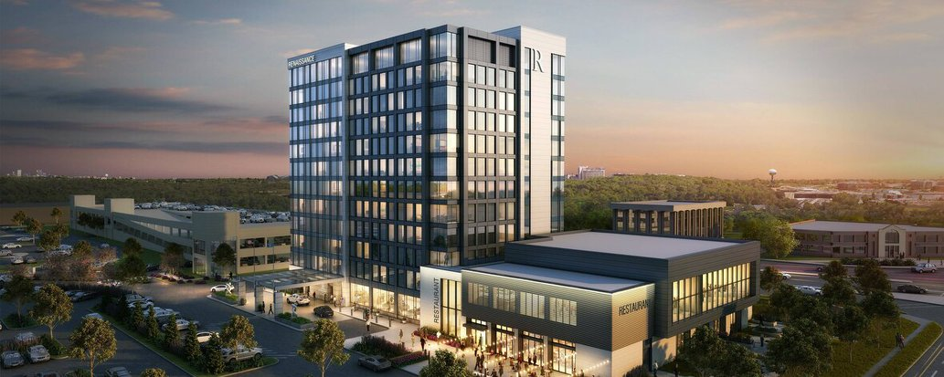 Construction for theRenaissance Milwaukee WestHotel, located inWauwatosa, Wisconsinis staying on schedule to open July 2020.
