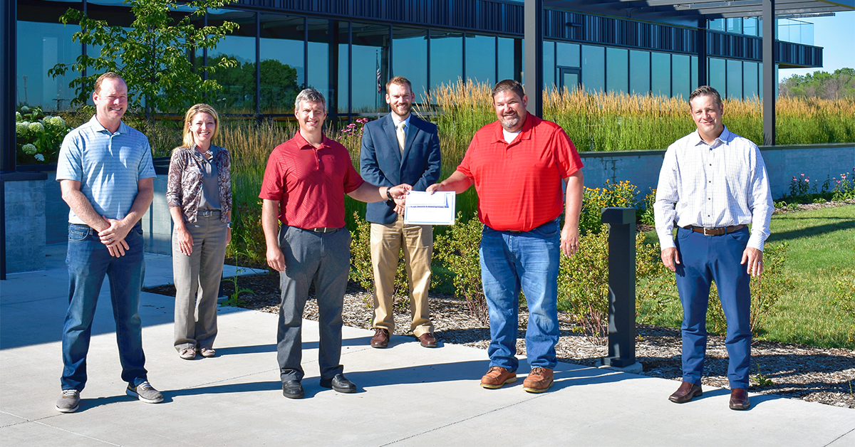 C.D. Smith and three other Fond du Lac companies were commended for workplace safety this week. TheEnvision Greater Fond du Lac'sSafety Councilrecognized four local companies for outstanding safety performance. We are honored to earn recognition for silver-level performance awards... 